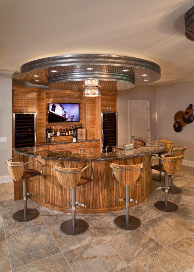 16 Awe Inspiring Rustic Home Bars For An Unforgettable Party: 15 Majestic Contemporary Home Bar Designs For Inspiration