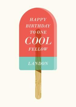 Cool Treat by Momo for Minted.