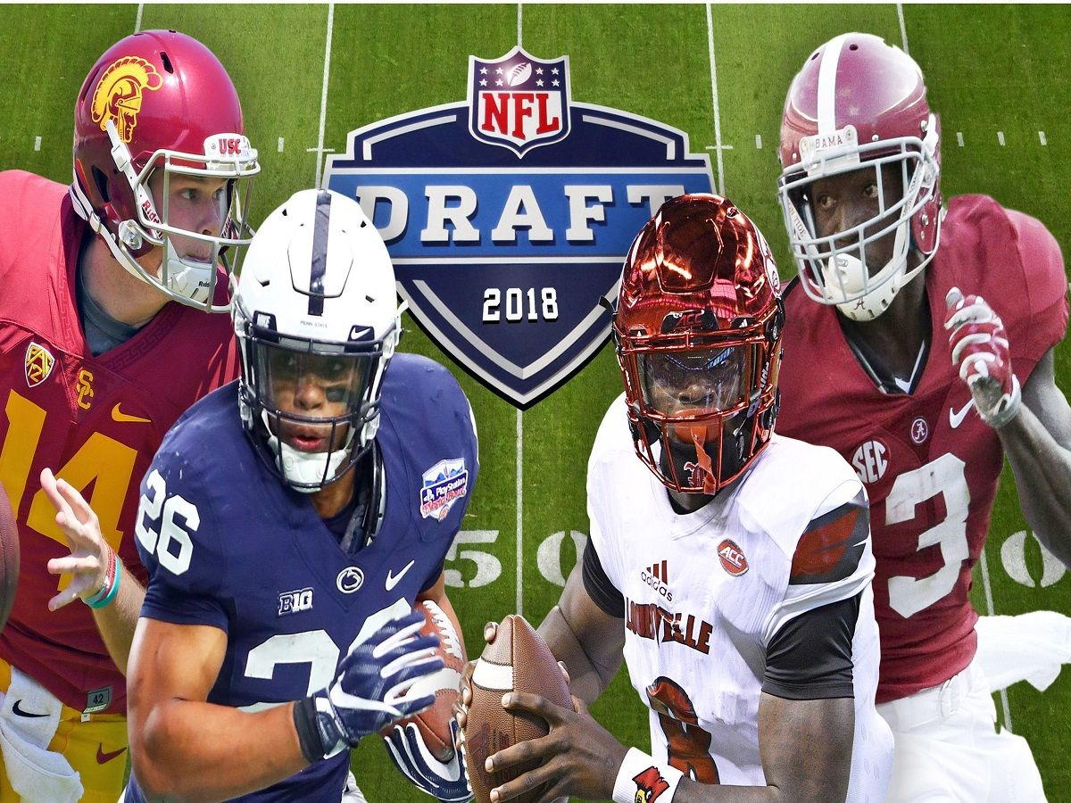 Nfl Mock Draft Mystery Still Remains Throughout 2018 First Round Nfl Usa Sports Usa Today Sports