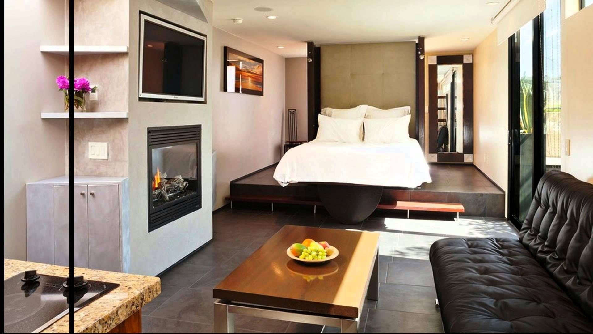 36 Creative Studio Apartment Design Ideas One bedroom