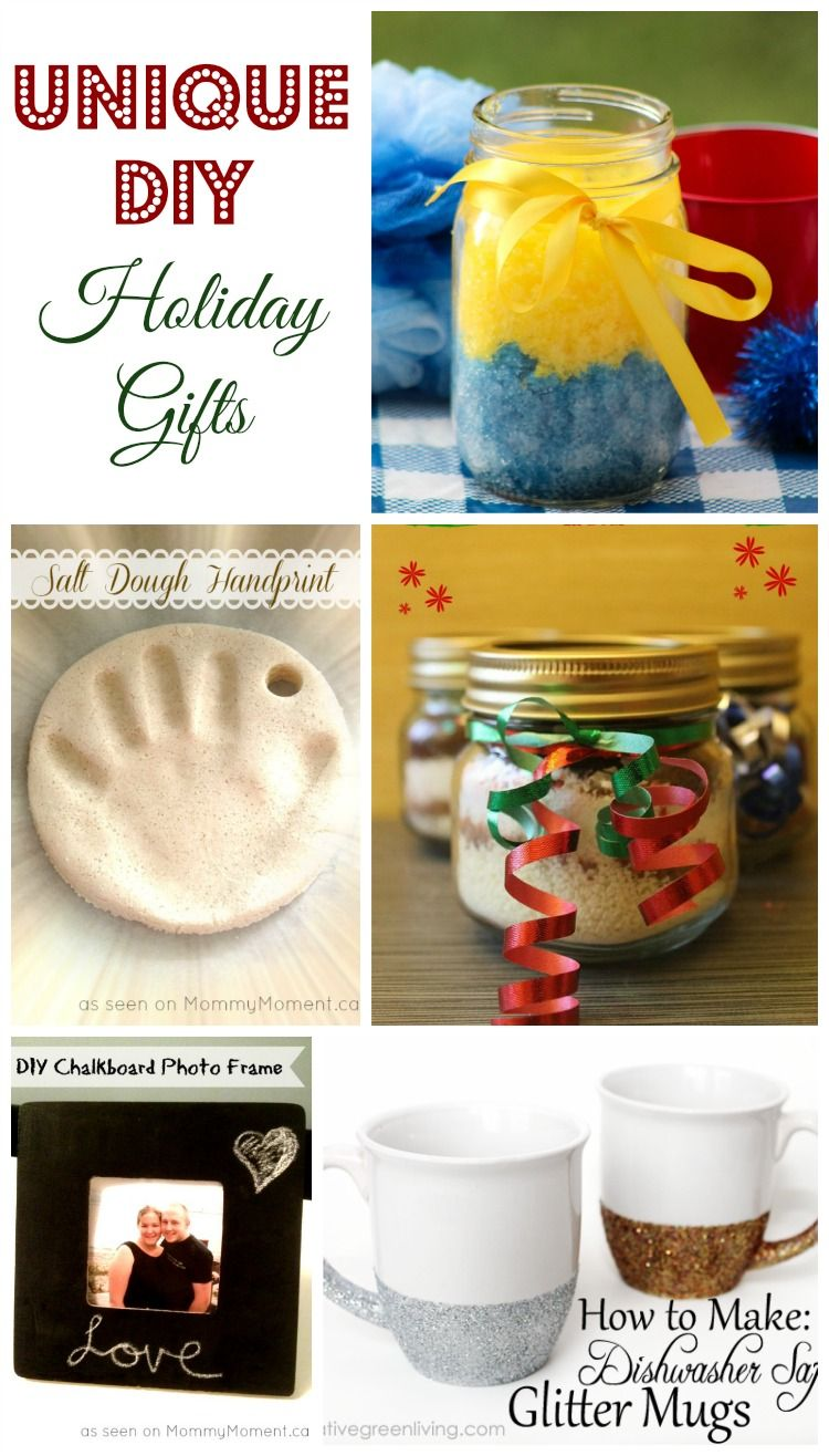 5 Original DIY Christmas Gift Ideas | My Teen Guide | Pinterest ...