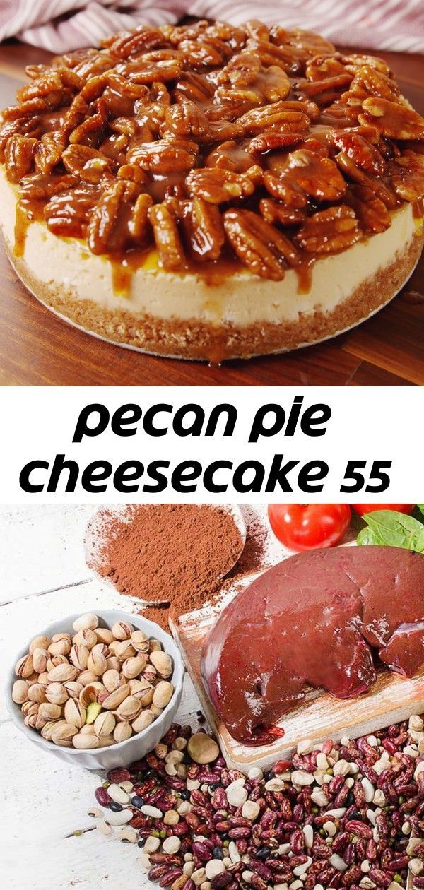 Pecan pie cheesecake 55 Still don't know what dessert to make for the holidays? Pecan Pie Cheesecak