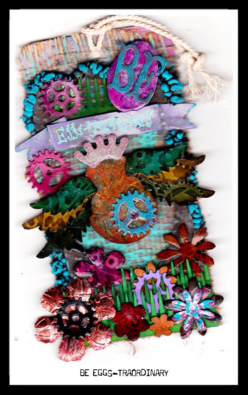 tincan handmade craft deli: Tim Holtz 12 tags of 2013 Challenge
