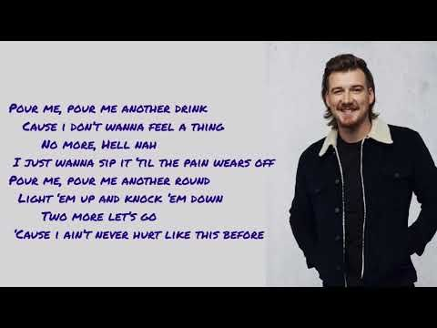 Morgan Wallen Whiskey Glasses Lyrics Pictures Youtube Lyrics Whiskey Glasses Country Music Quotes