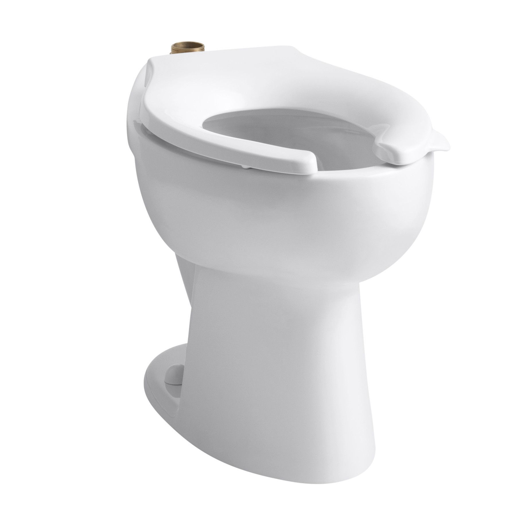 Fabulous Highcrest 1 6 Gpf 16 1 2 Ada Elongated Toilet Bowl With Top Evergreenethics Interior Chair Design Evergreenethicsorg