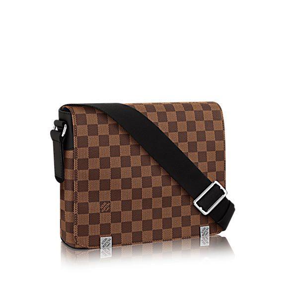 LOUIS VUITTON DISTRICT MM.  louisvuitton  bags  shoulder bags  leather   canvas  lining  metallic     Louis Vuitton   Pinterest   Louis vuitton 81b9075e94c