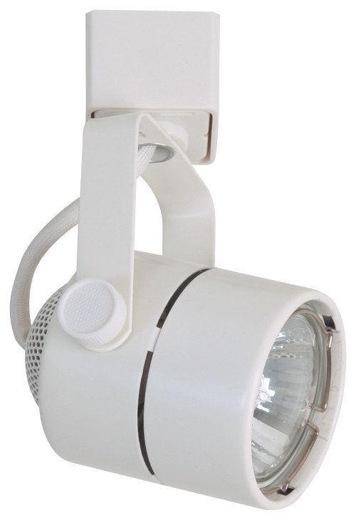 Elco Et1628 Cylinder Track Head White Indoor Lighting Heads