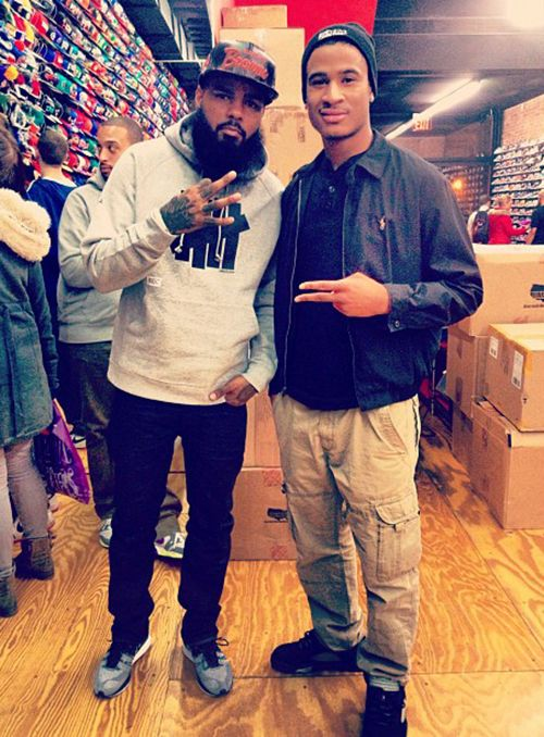49bb1f1c4c14 Stalley in the Nike Flyknit Trainer White Black Nike Flyknit Trainer
