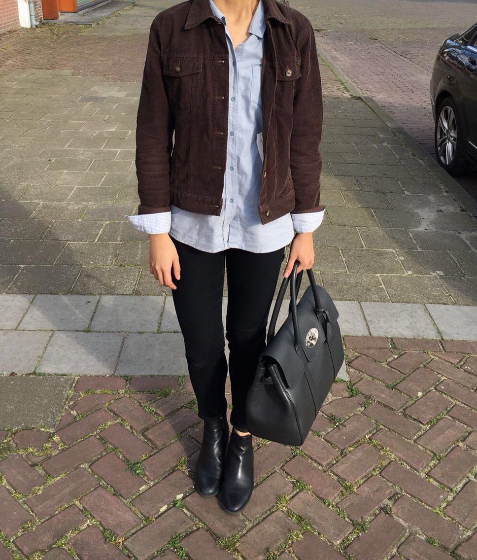 Gap Corduroy Jacket Esprit Blue Shirt Lee Cooper Jeans 5th Avenue Chelsea Boots Mulberry Bayswater H M Sungl Lee Cooper Jeans Corduroy Jacket Clothes [ 1136 x 968 Pixel ]