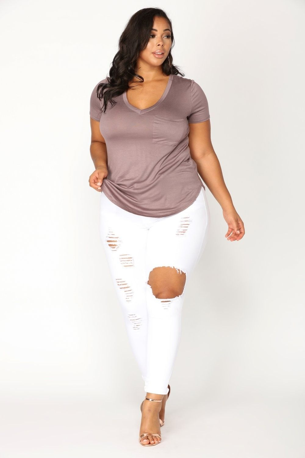 55f3ac521f0 Plus Size Glistening Jeans - White  34.99  ootd  style  fashion  chic