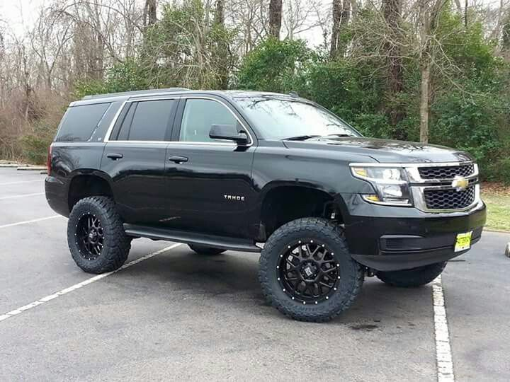 2016 Tahoe Lifted >> 2015 Chevrolet Tahoe Lifted Blazers And Tahoes Pinterest