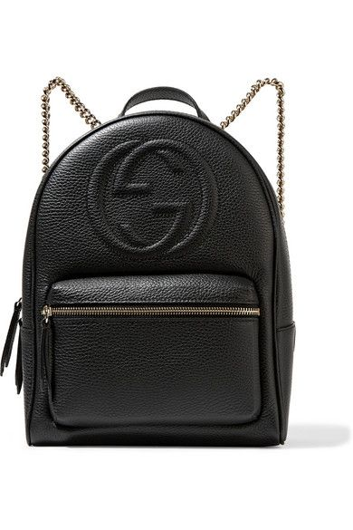 GUCCI Soho Textured-Leather Backpack.  gucci  bags  leather  backpacks   ffb3183fcd69b