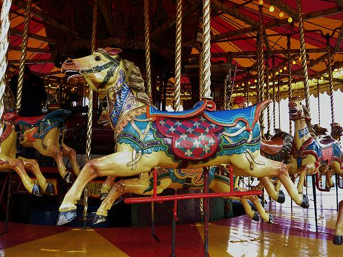 """Monarch"", an Orton & Spooner carved mount from Ashley's Golden Gallopers - my absolute favourite British set."