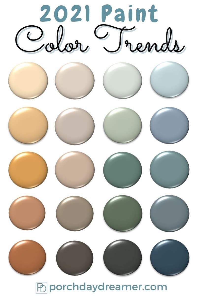 2021 Paint Color Trends Best Of The Best Picks Trending Paint Colors Paint Colors For Home Paint Colors The paint colors you're going to see everywhere in 2021, according to interior designers. 2021 paint color trends best of the