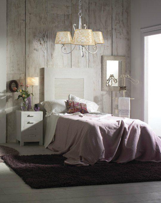 L mparas decorluc de hierro y forja deco pinterest - Lamparas modernas para dormitorio ...