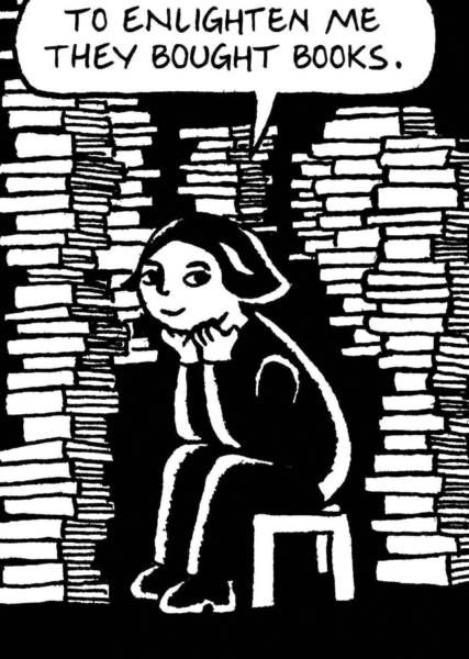 The Graphic Novel Behind The Brouhaha At Chicago Public Schools Persepolis By Marjane Satrapi Tells The Story Of A Graphic Novel Literary Quotes Book Nerd