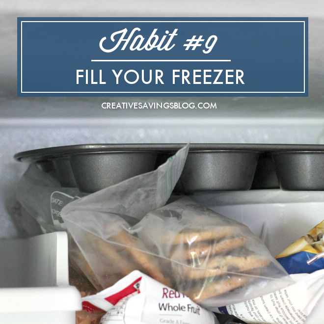 This month`s mini habit is all about freezer cooking! Make busy weeknights a whole lot easier by filling your freezer with yummy meals -- we`re talking extra casseroles, muffins, and more! You`ll save loads of time AND prep for the upcoming Holiday season.