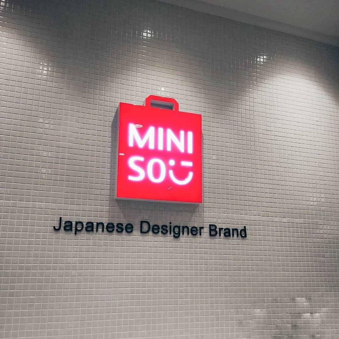 Miniso Miniso Branding Design Design