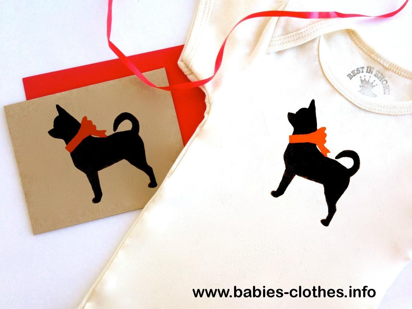 Chihuahua Baby Bodysuit Organic Infant Clothes To Animal Rescue