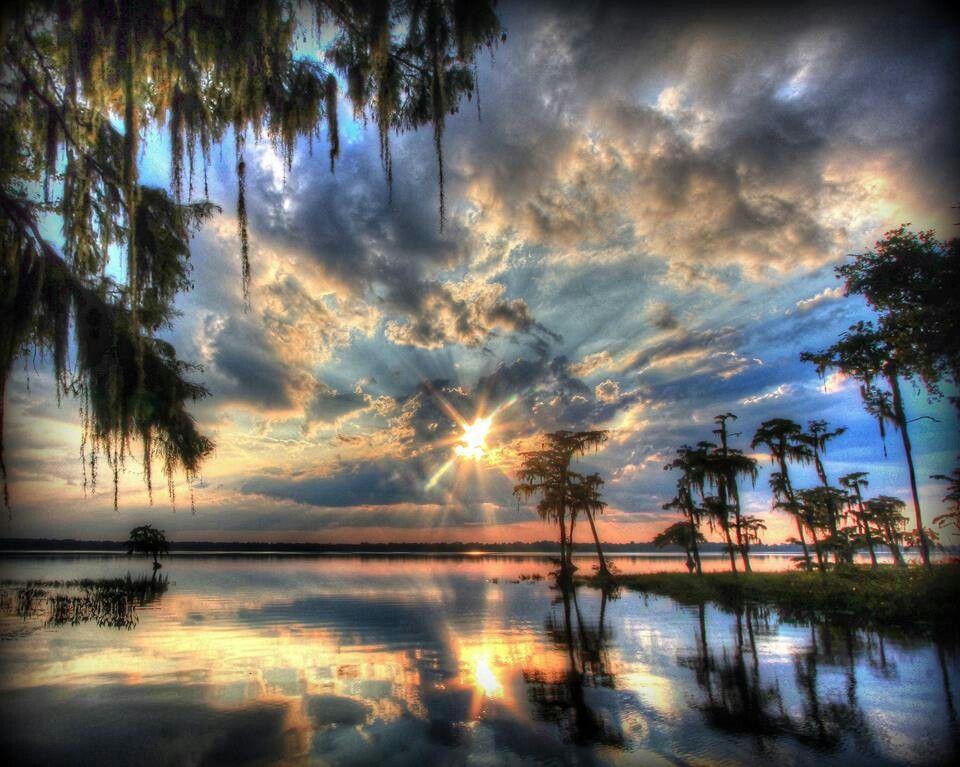 Palestine lake florida scenic views lake butler scenery