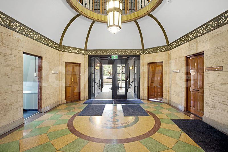 Entrance, BMA House, Sydney, 1930 · Art Deco InteriorsEntranceSydneyEntrywayDoor  Entry