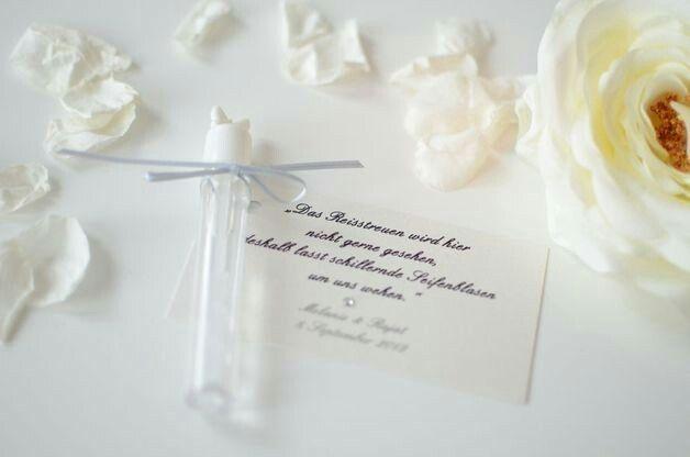 Seifenblasen Spruch Hochzeit