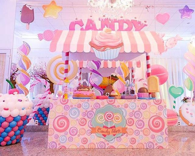 Festa De 15 Anos Ideas: Ideas Para Una Fiesta De 15 Años Tema Candy Land