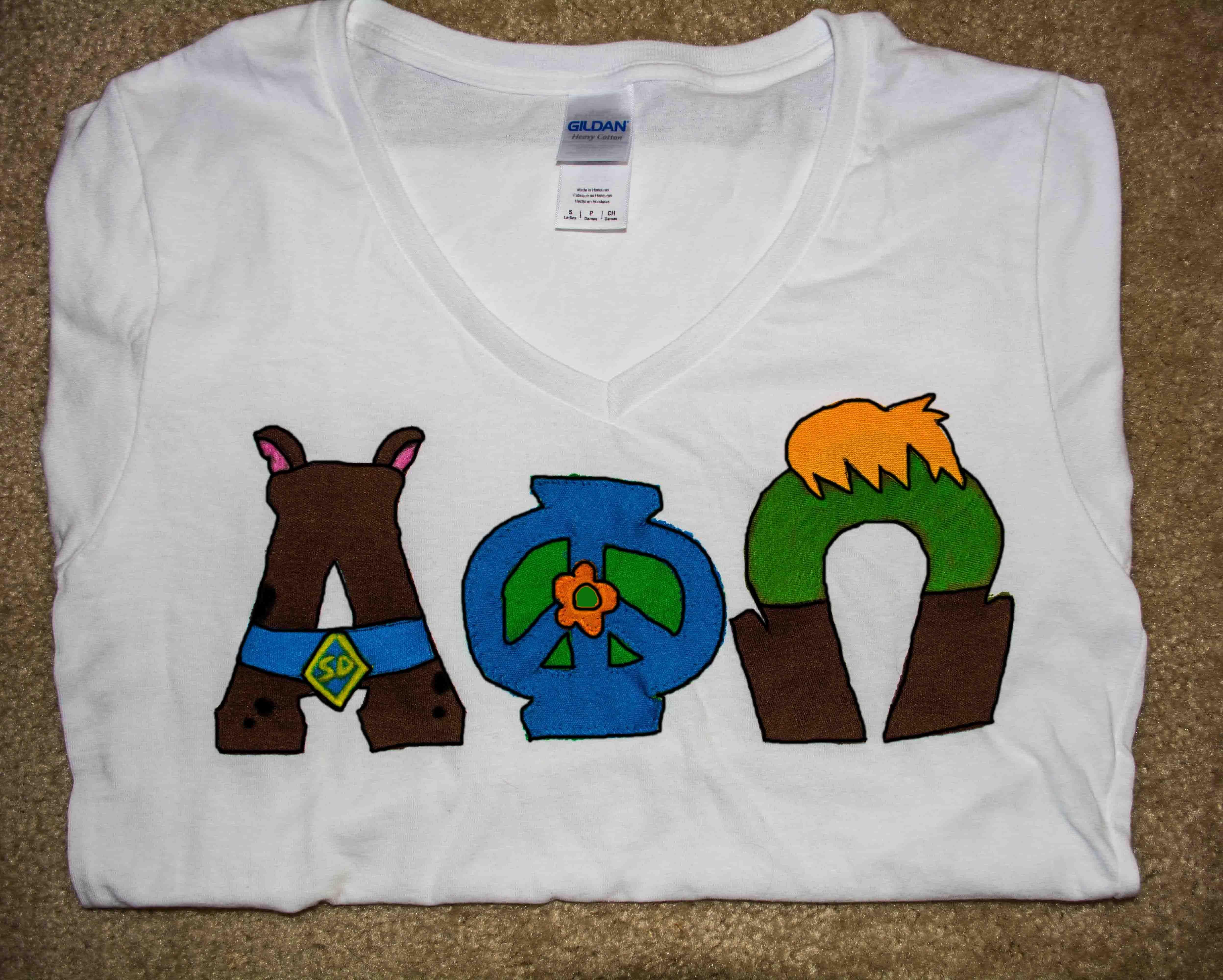 Scooby Doo APO letters Greek Letters by Me Pinterest