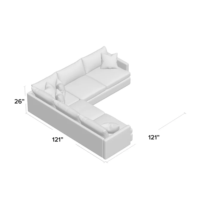 Mercury Row Brosnan Symmetrical Sectional Wayfair Ca In 2020 Sectional Sofa Couch Sectional Sectional Sofa