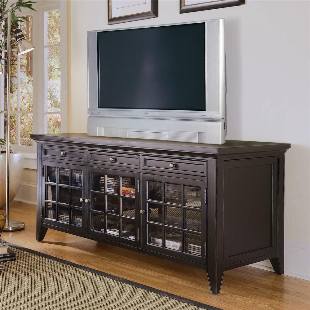 Fairview Entertainment Console - 65 Inch by Hooker Furniture ...