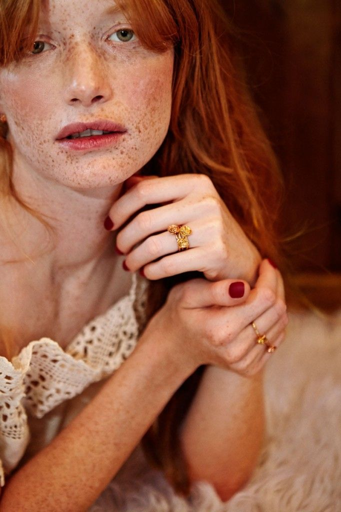 Winter Rose collection debut and lookbook Redheads Red heads and