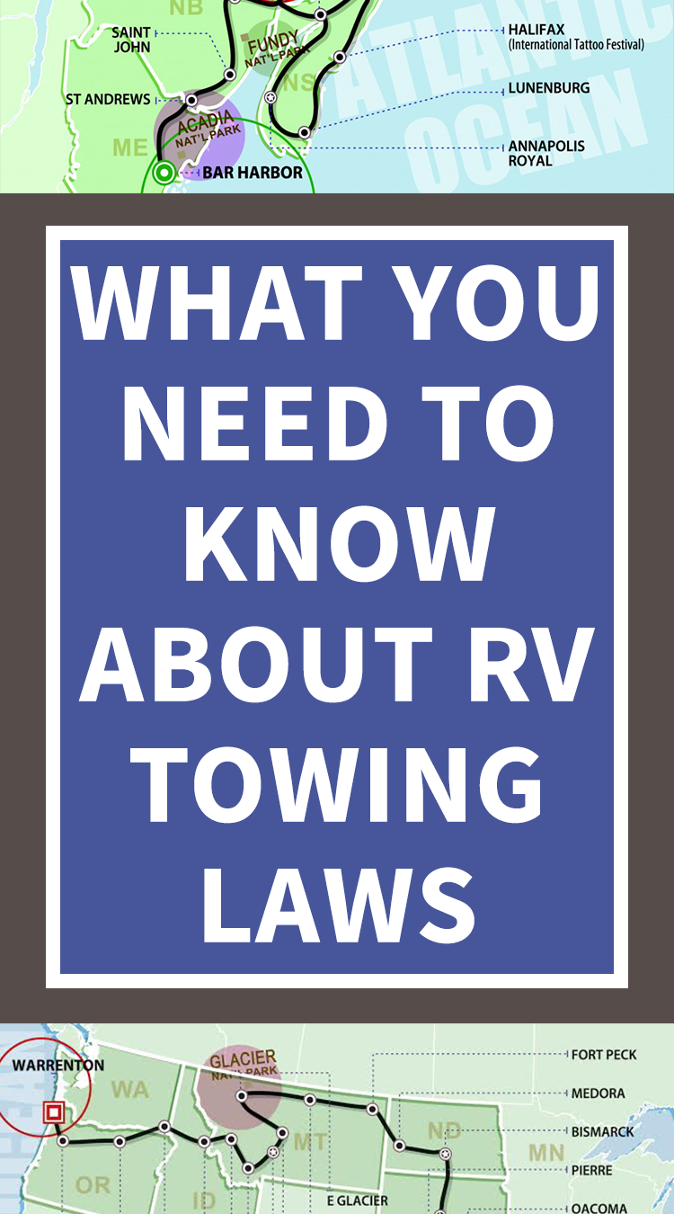 RV Towing Laws What You Need to Know Rv camping, Rv