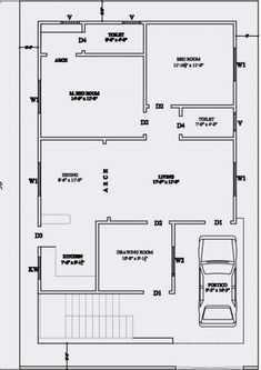 inspiring 20 x 60 house plan design india arts for sq ft plans