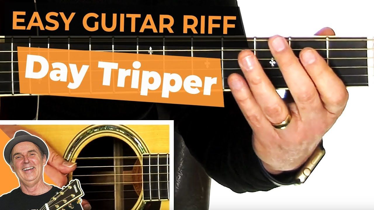 guitar riffs day tripper beatles learn how to play the famous day tripper guitar riff as. Black Bedroom Furniture Sets. Home Design Ideas