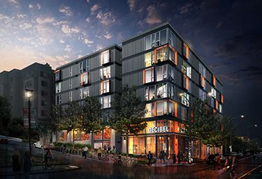 Decibel A 75 Unit Complex At 301 12th Ave Decibel Got Design Approval In October And Construction Is Set To Beg Seattle City Downtown Architecture Rendering
