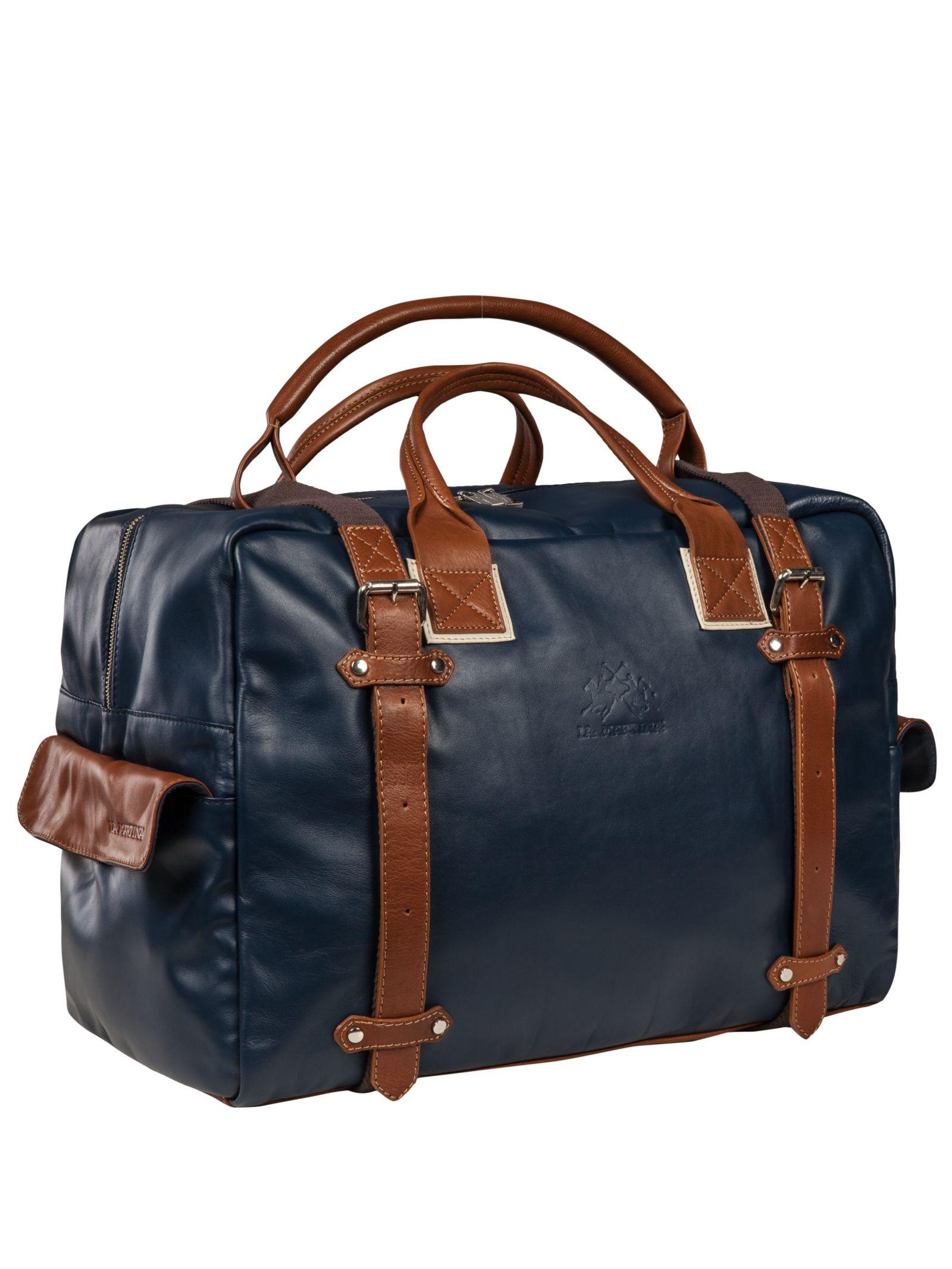 Tasche, Weekender blau von La Martina – Eckerle Herrenmoden