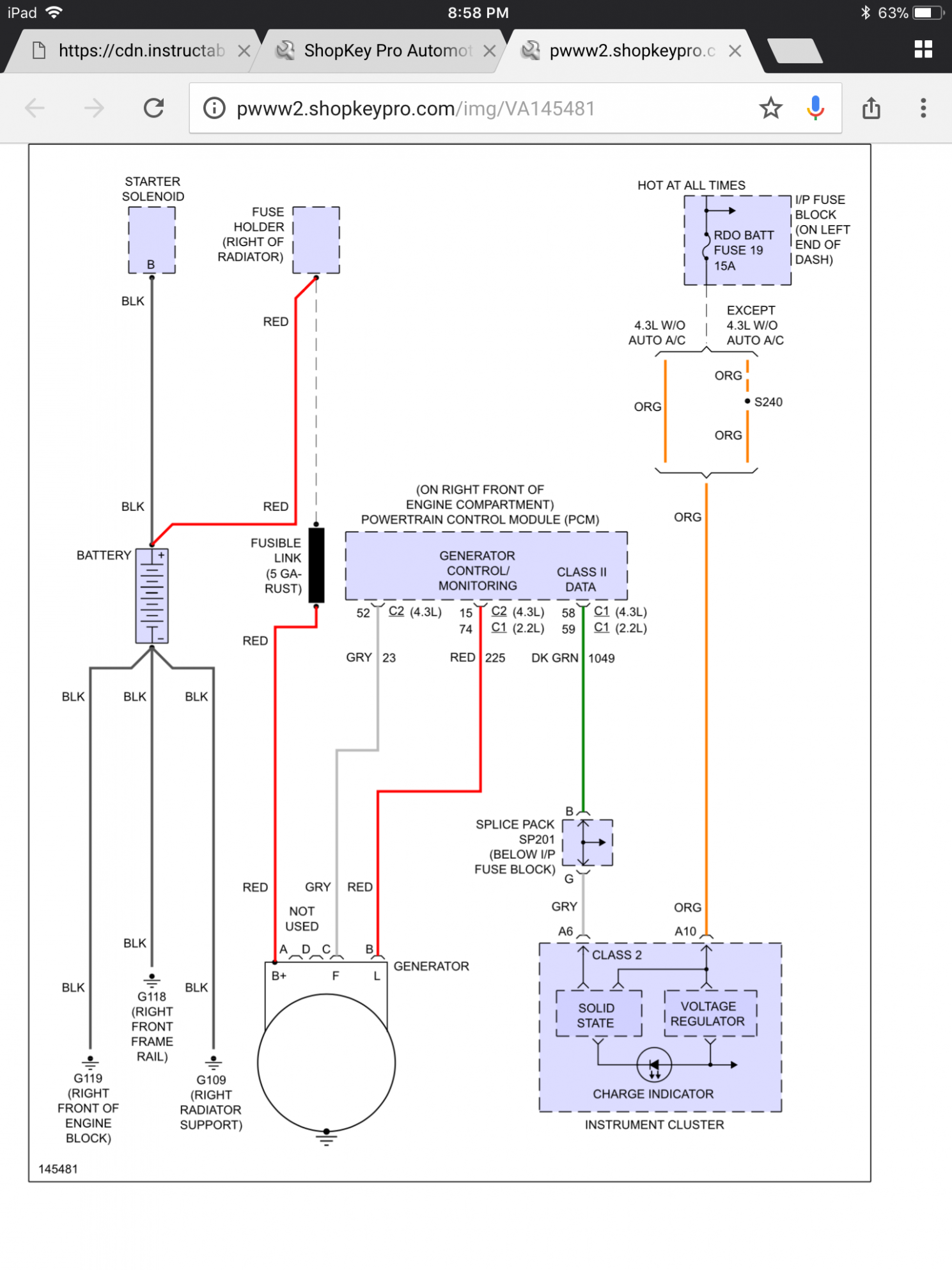 Engine Ecu Block Diagram