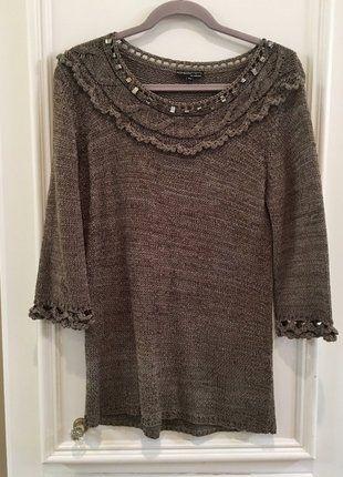 Buy my item on #vinted http://www.vinted.com/womens-clothing/sweaters/21436702-european-mushroom-colored-beaded-sweater