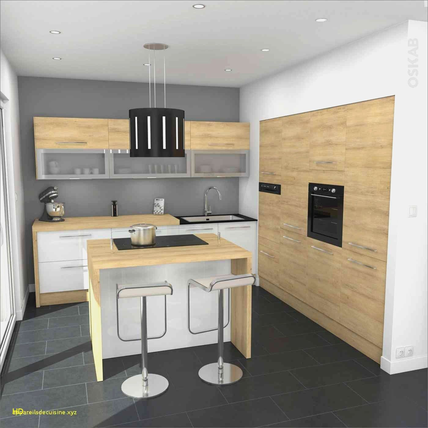 Luxury Meuble Cuisine Bois Brut Kitchen Without Handles Wooden