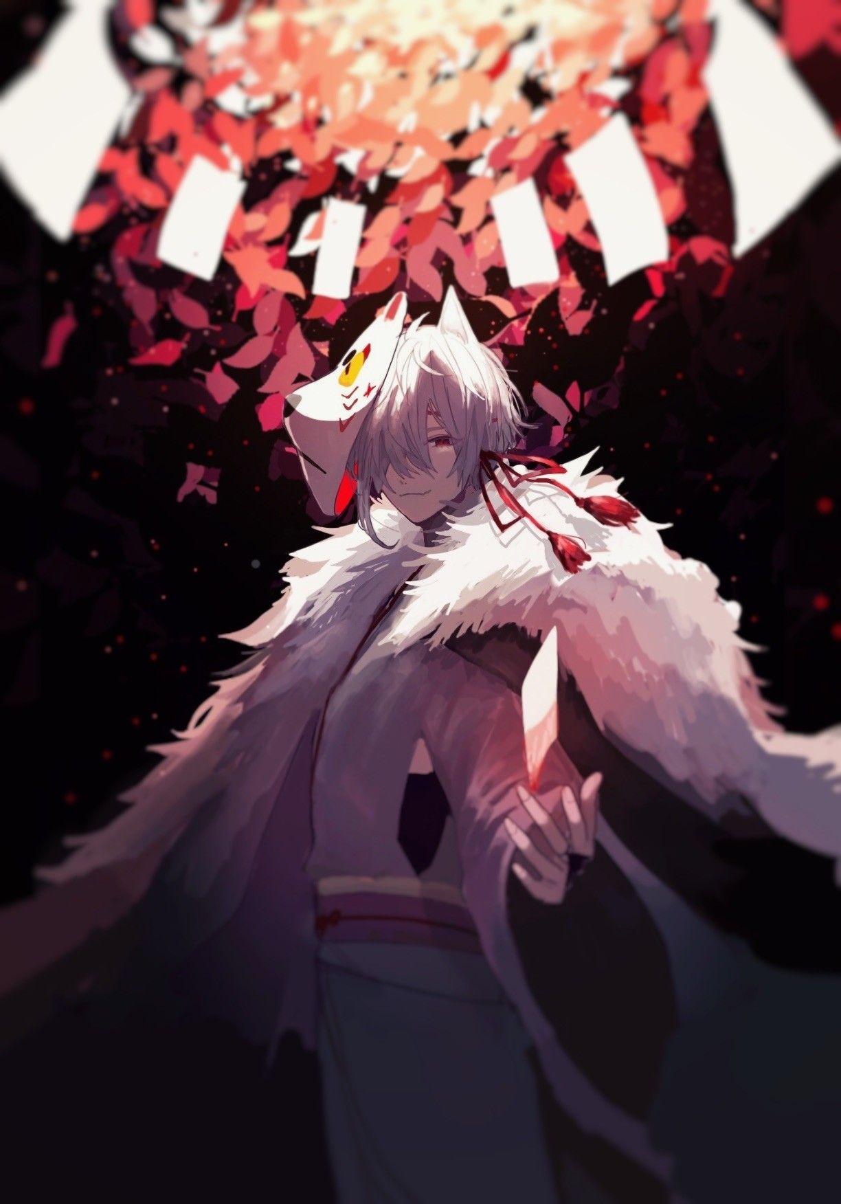 animeboy Anime fox boy, Anime demon boy, Anime
