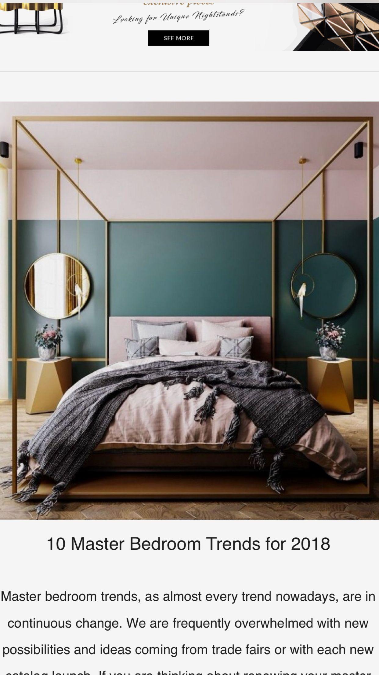 Master bedroom green  Pin by gorrgoa on interior  Pinterest  Bedrooms Master bedroom