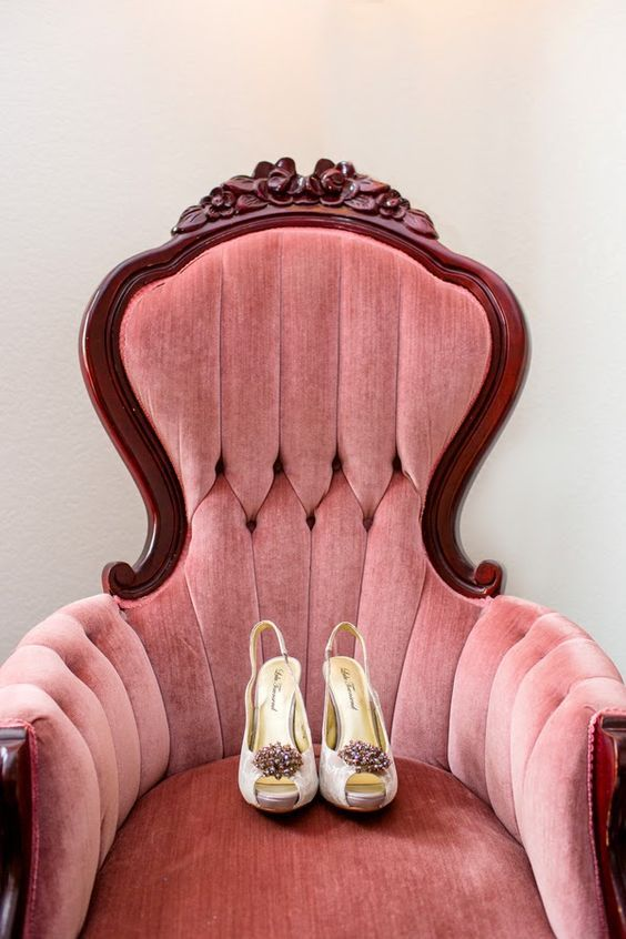 Dusty Pink Office Chair
