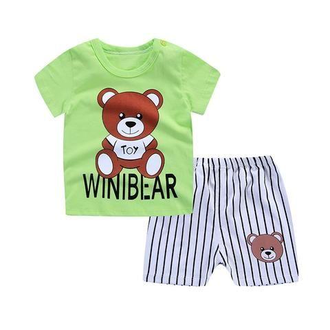 6b59a5418a5c Cartoon Baby Boy Clothes Summer 2018 Newborn Baby Boy Clothes Set ...