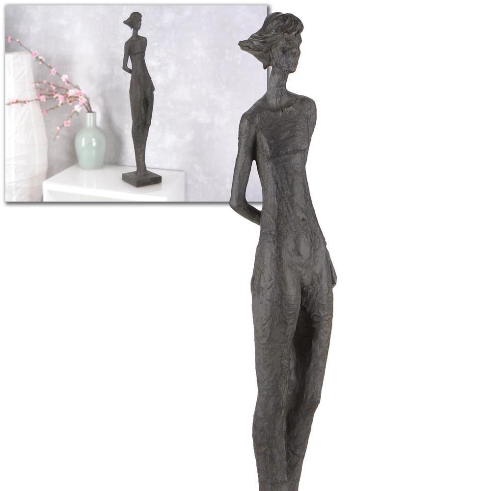 Abstrakte figur frau moderne kunst statue hilda die for Dekoration wohnzimmer ebay