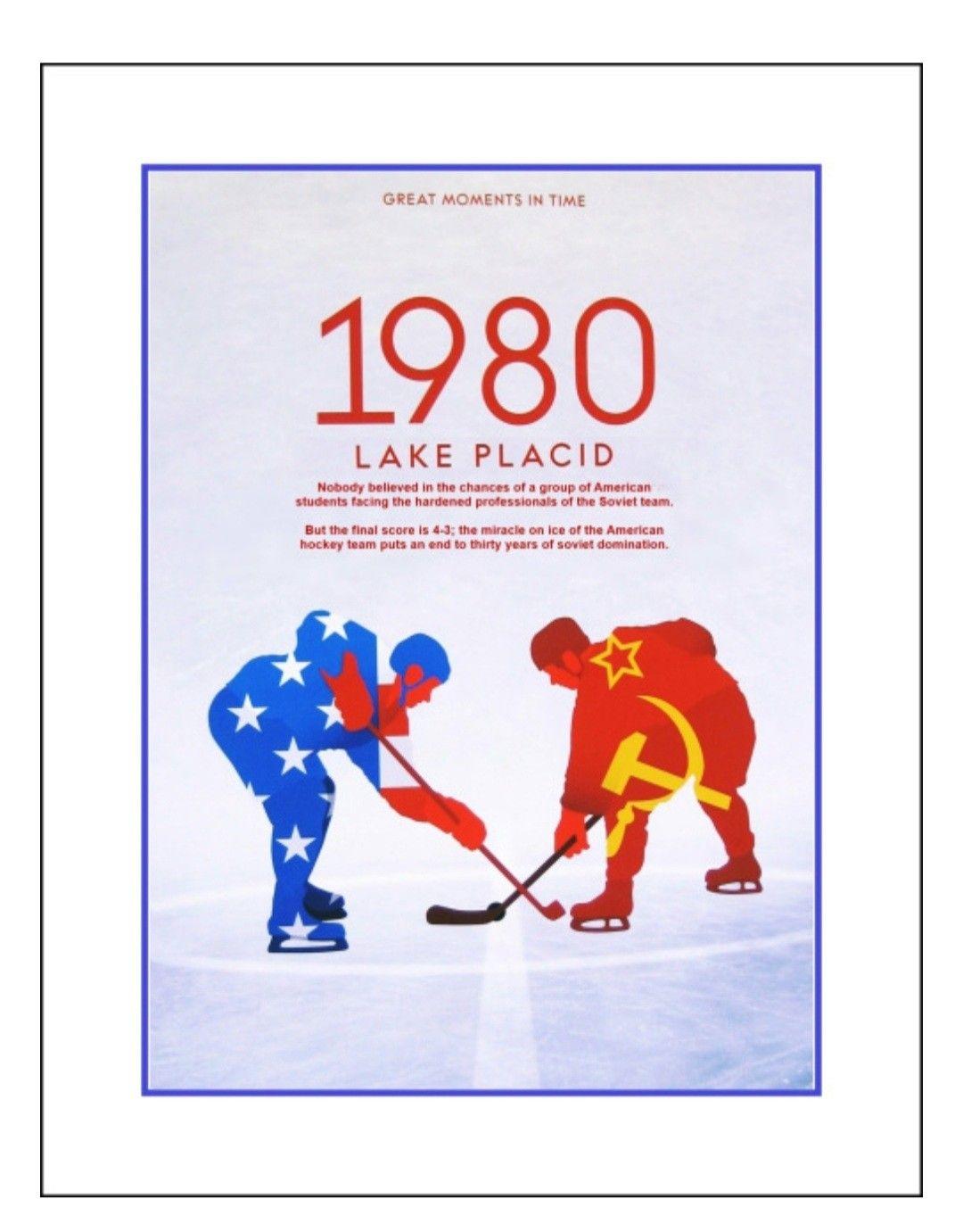 Vintage 1980 Olympics Hockey Memorabilia Poster Miracle On Ice Wall Art Gift Arleyart Com In 2021 Hockey Wall Art Olympic Hockey Hockey Posters