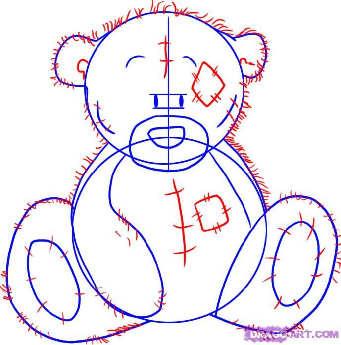 How to Draw Tatty Teddy the Me