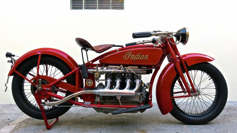 1927 Indian Ace 4 Cylinder 78 Ci 3 Speed Lot T28 1 Indy 2015 Mecum Auctions Indian Motorcycle Vintage Indian Motorcycles Indian Motorbike
