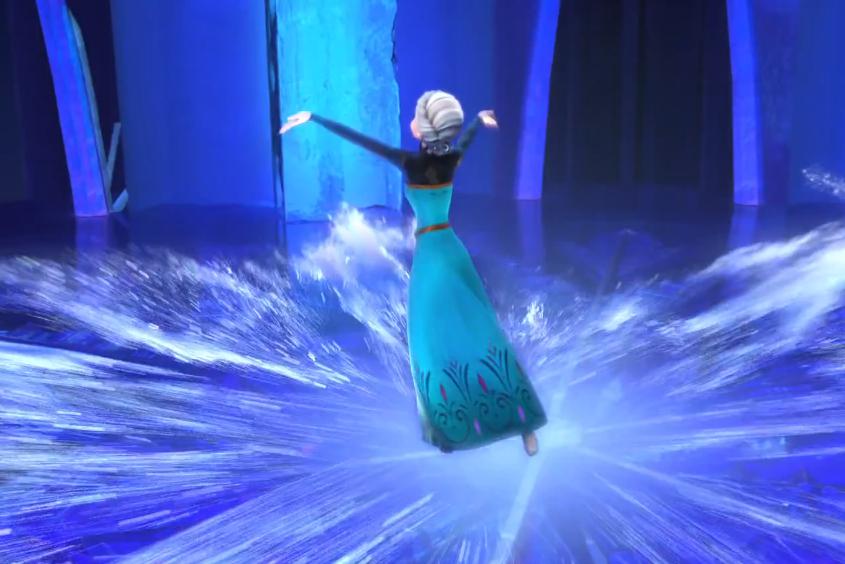 My soul is spiraling in frozen fractals all around | {Frozen ...