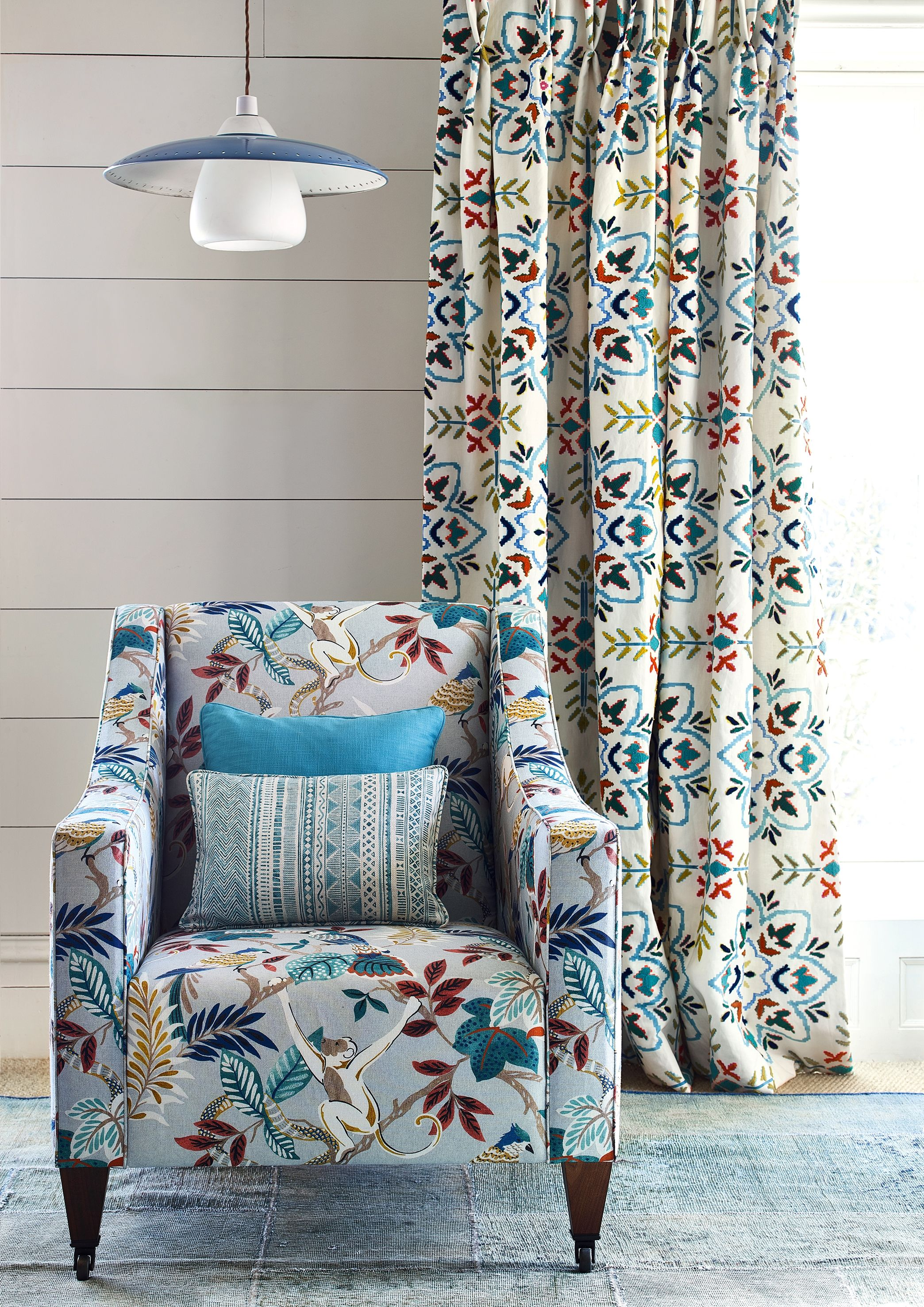 The Indira Collection By Jane Churchill Soft Furnishings House Styles Interior Trend