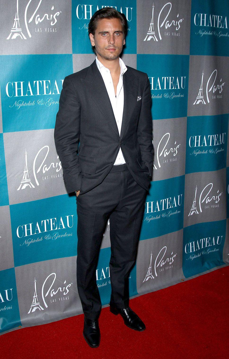 Scott Disick Suits   Scott Disick black suit blazer dressy pants ...